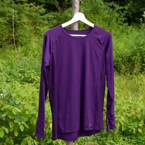 Fitted Long Sleeve Exercise Top